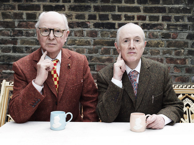 Schirn_Presse_Gilbert_George_2015_Photo_Tom_Oldham.jpg Gilbert & George, 2015, Foto: Tom Oldham